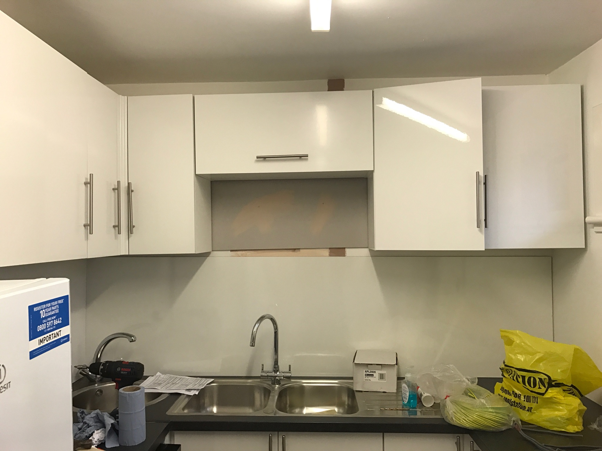 This is a kitchen we got a call for advise