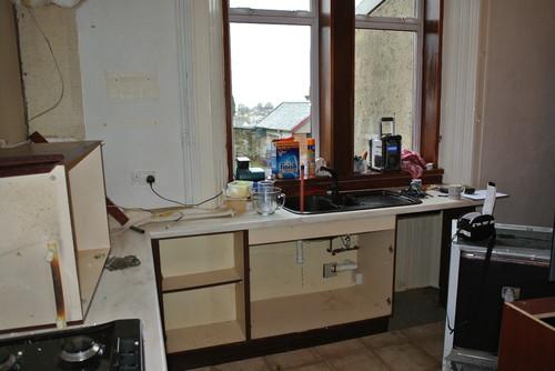 Bespoke Kitchens Glasgow | Shaker Milbourne | Before 2