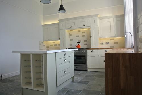Bespoke Milbourne Shaker Kitchen Glasgow