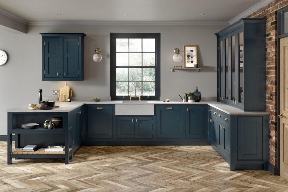 Clarendon Painted in Hartforth Blue