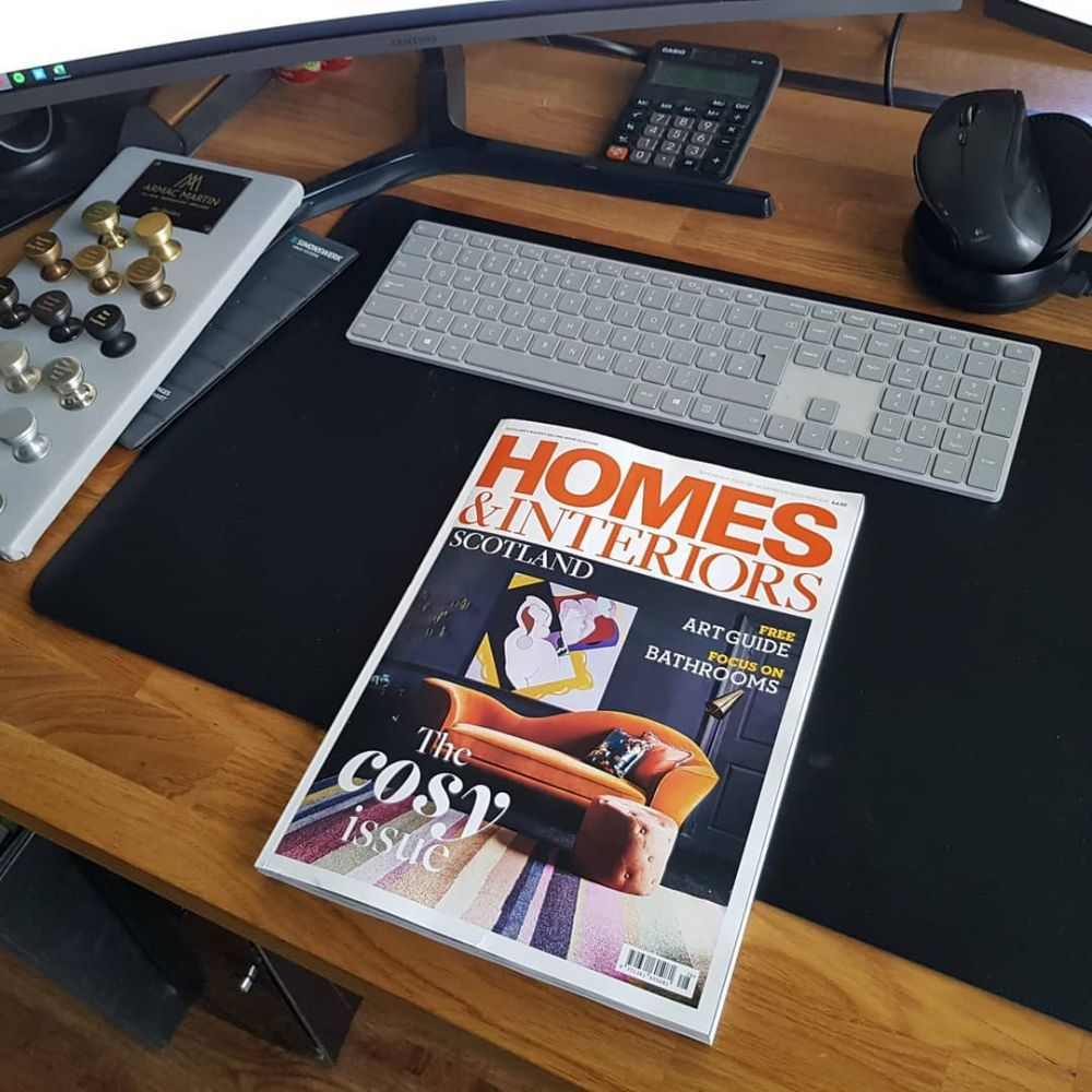 A feature in Homes and Interiors Scotland