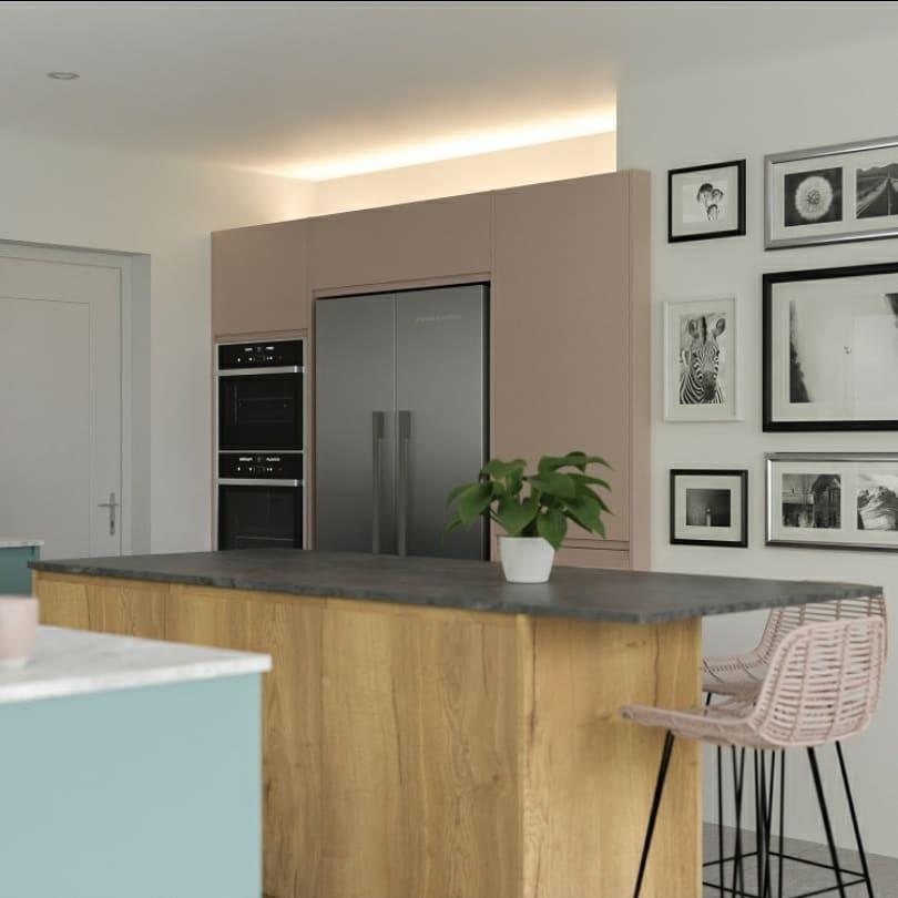 Bespoke Kitchens Glasgow   Island