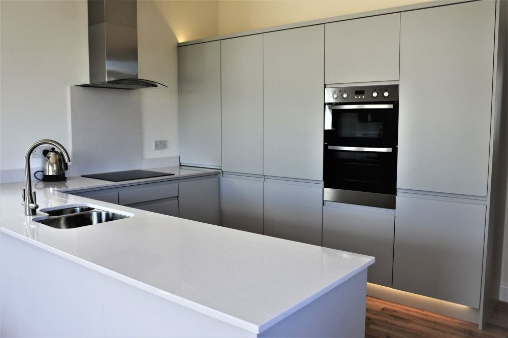 Super Matt Light Gray Rothwell Kitchen