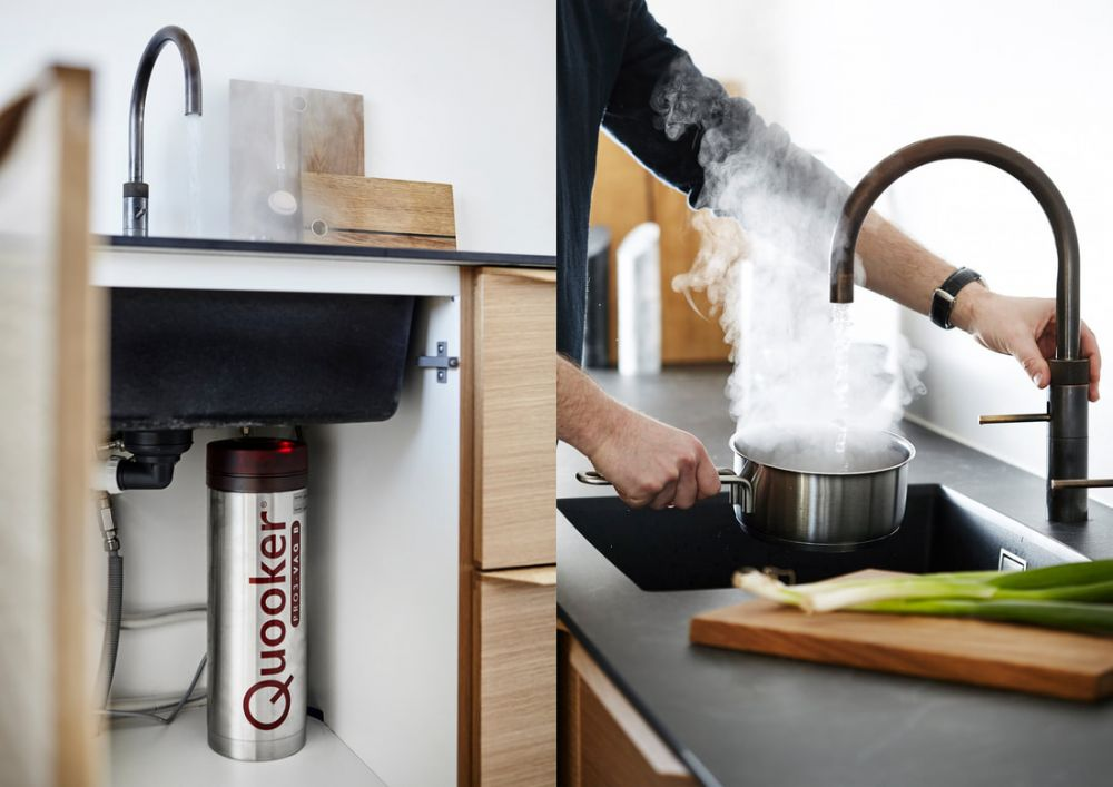 Quooker Boiling tap and tank