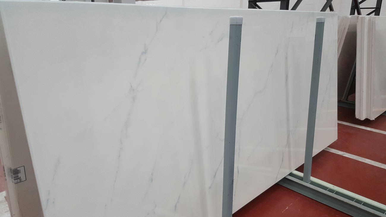 "Dekton ""Tundra"" with its faint Blue marbling effect"