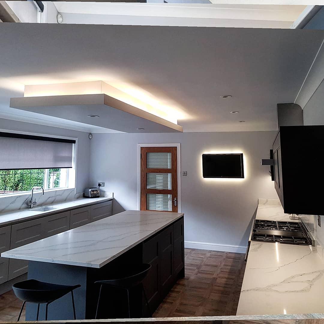 Bespoke Modern Classic Kitchen - Whitecraigs