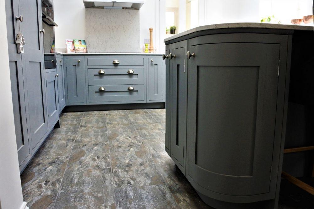 Inframe kitchen - Glasgow. By Glenlith Interiors