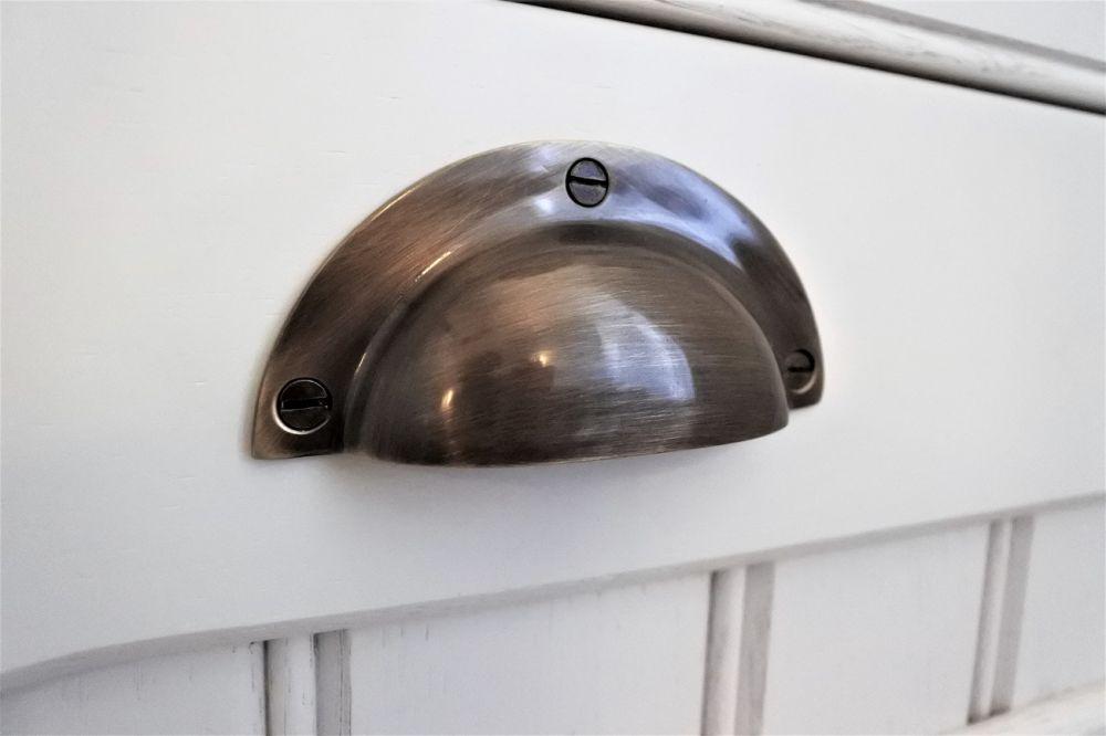 Antique brass cup handle - Bearsden