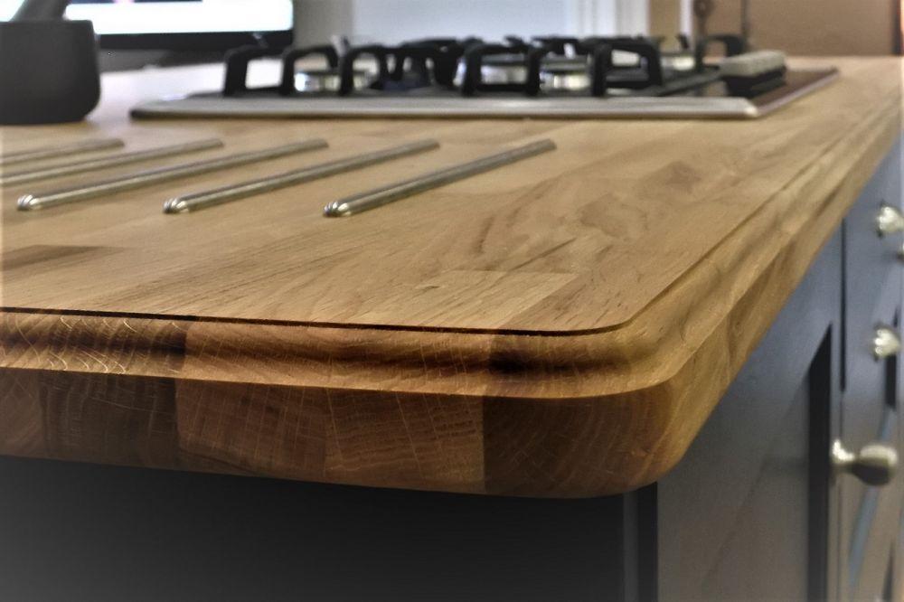 Ogee profiled 40mm Oak