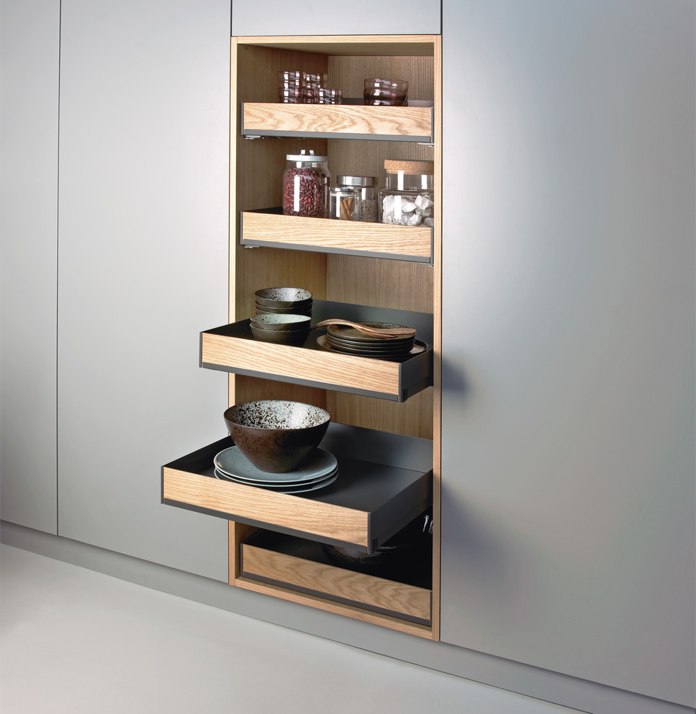 Pull out open unit Peka