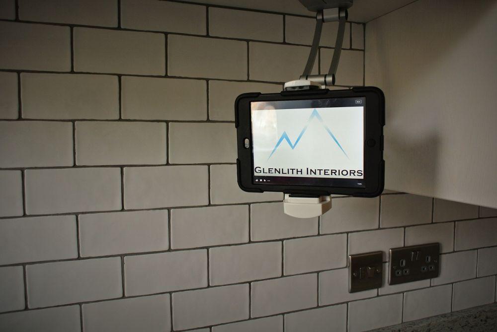 iPad holder for recipes