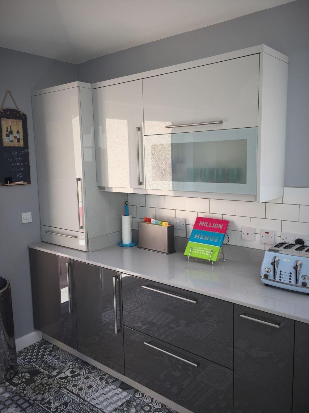 Gloss Gray Kitchen Glasgow