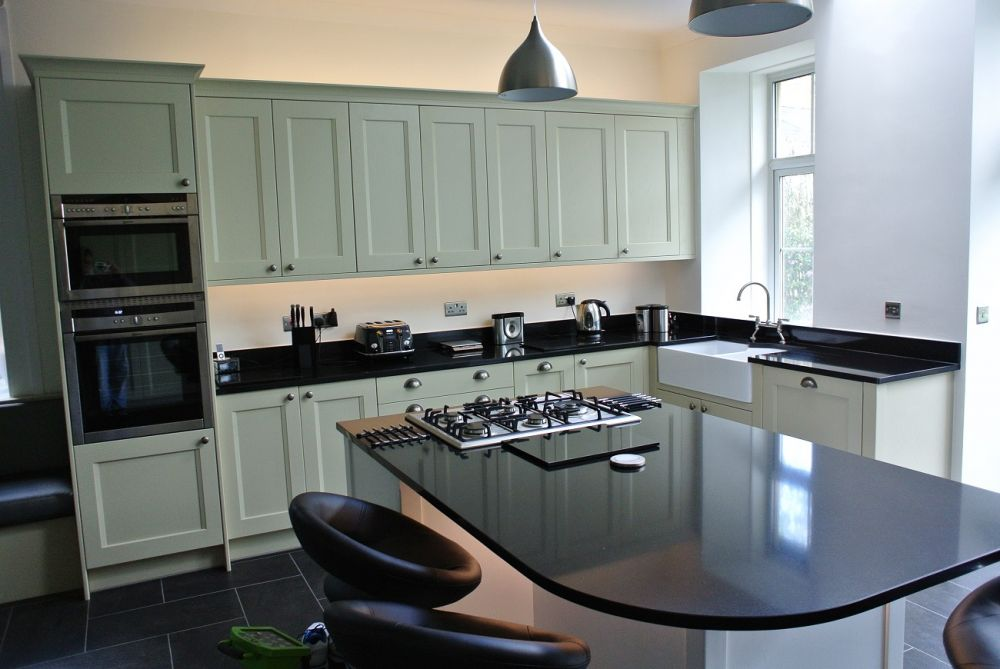 Burbidge Kew with Pewter Handles in Wevet (no273) & Fawn (no10) East Renfrewshire, Busby, G76