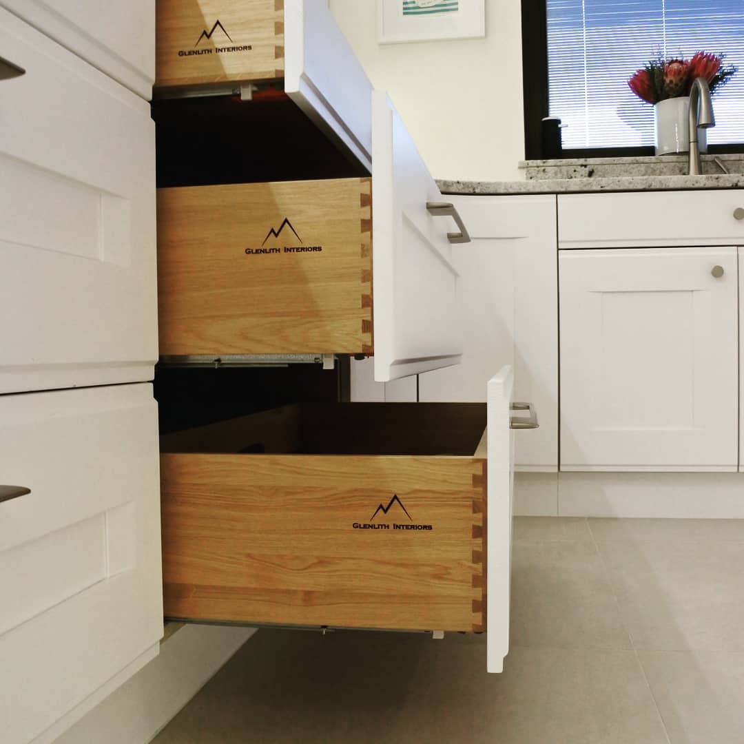 Bespoke kitchen drawers | Newton Mearns