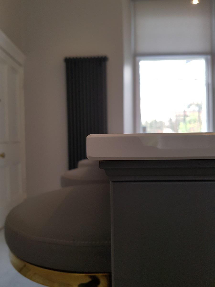 Arundel undercapping on inframe kitchen glasgow