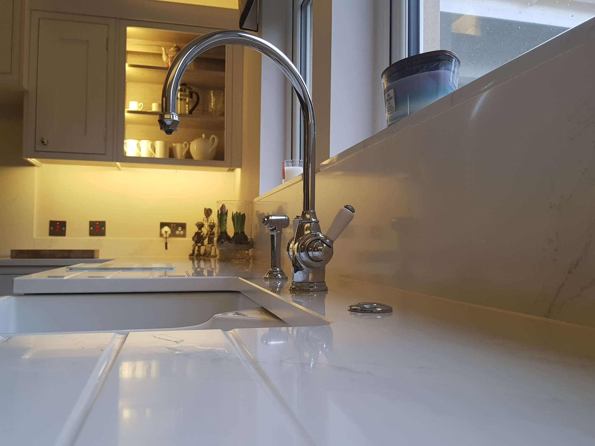 Bespoke Inframe Kitchen Belfast Sink Glasgow