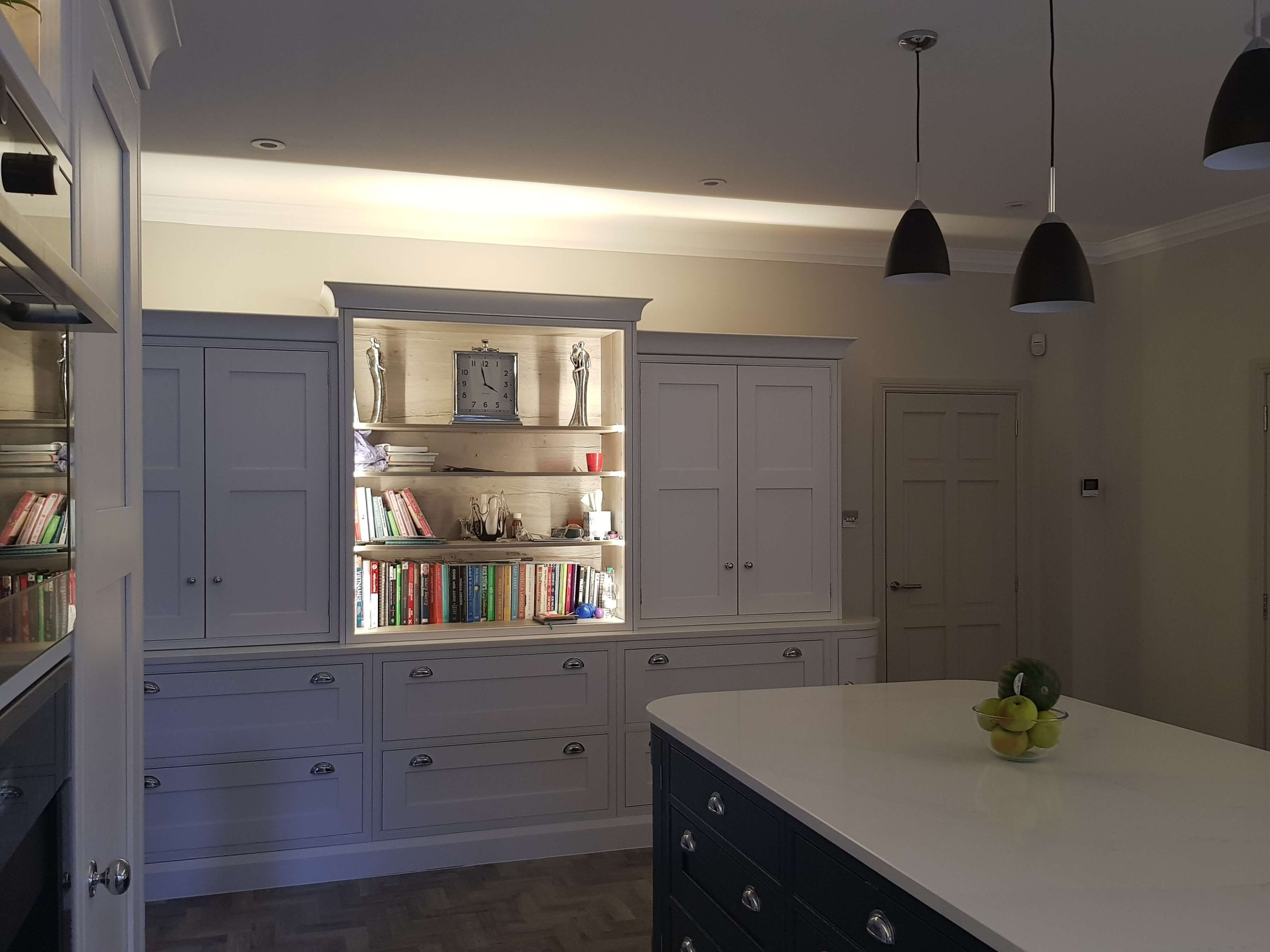 Bespoke Inframe Kitchen - Lighting