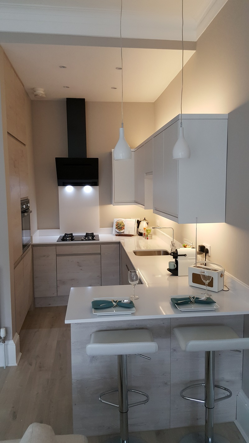Blossom Avenue Kitchens | Glasgow | White Matt
