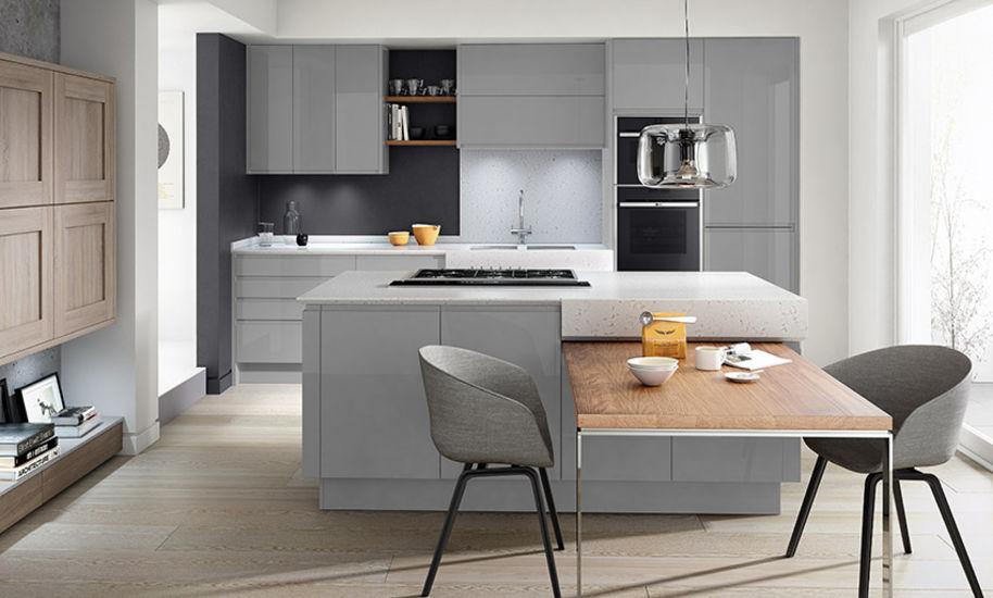The Remo Kitchen - Silver Grey