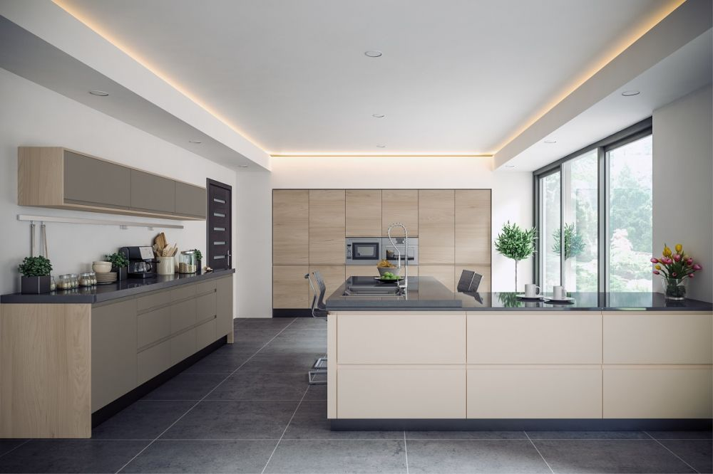 Rothwell Supermatt Cashmere Kitchen