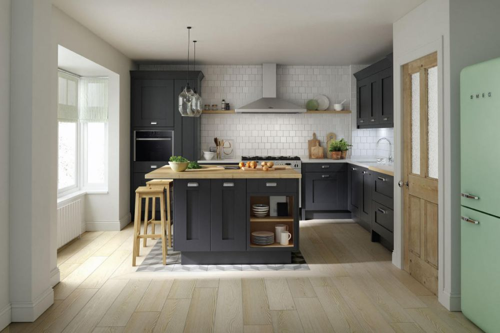 Milbourne Charcoal - Beautiful Kitchen