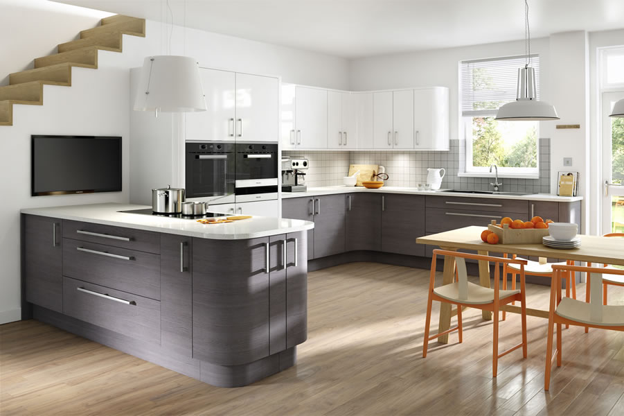 Recommended worksurface Samsung Mont Blanc Snow, Silestone Blanco Stellar